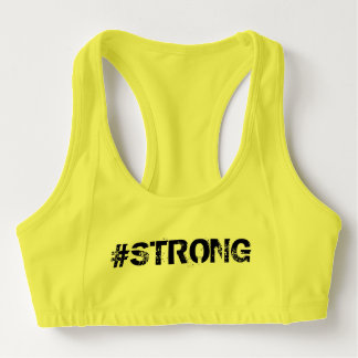 """#strong #woman """"never give up"""" sports bra"""