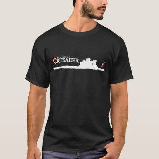 Stronghold Crusader - Logo - Black T-Shirt