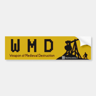 Stronghold - WMD Bumper Sticker