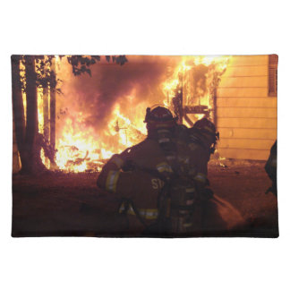 Structure Fire Placemat