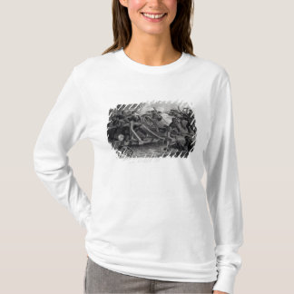 Struggle on a Bridge During the Retreat T-Shirt