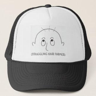 struggling hair farmer, (STRUGGLING HAIR FARMER) Trucker Hat