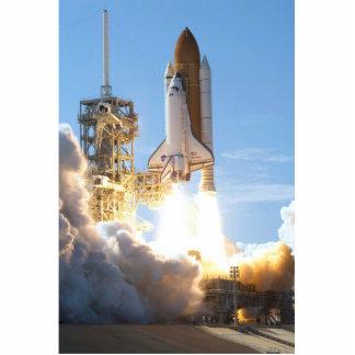 STS-124 Launch Photo Cutouts