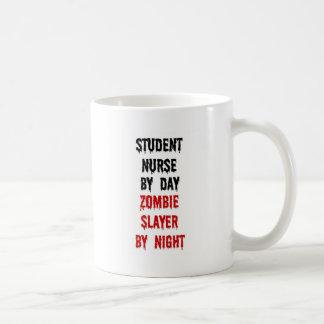 Student Nurse Zombie Slayer Basic White Mug