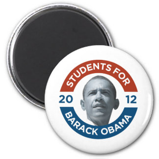 Students For Barack Obama 2012 Magnet