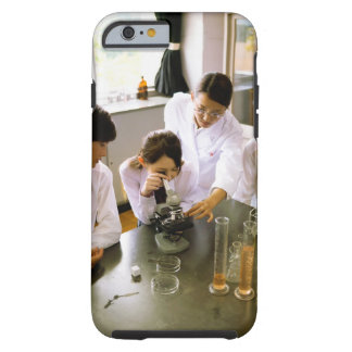 Students in School Chemistry Lab Tough iPhone 6 Case