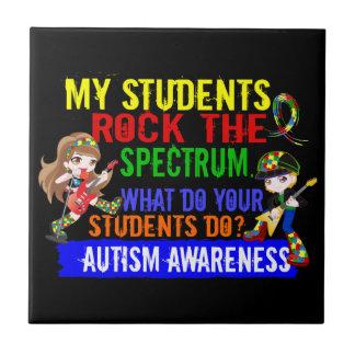 Students Rock The Spectrum Autism Tile