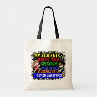 Students Rock The Spectrum Autism Bags