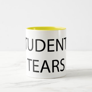 Students' tears Two-Tone coffee mug