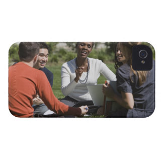 Students with professor iPhone 4 Case-Mate case