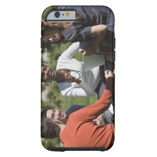 Students with professor iPhone 6 case