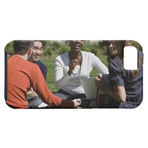 Students with professor iPhone 5 cover
