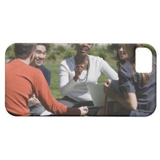 Students with professor iPhone 5 case