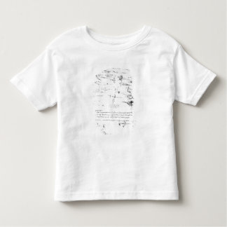 Studies of foot soldiers and horsemen in toddler T-Shirt