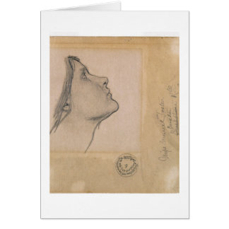 Study for 'Lamia', c.1904-05 (pencil on paper) Card