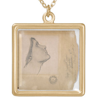 Study for 'Lamia', c.1904-05 (pencil on paper) Gold Plated Necklace