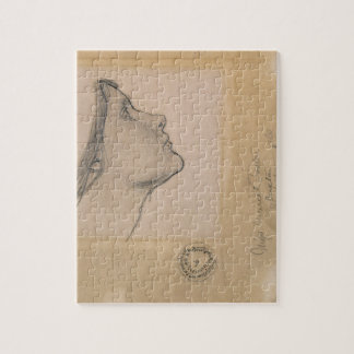 Study for 'Lamia', c.1904-05 (pencil on paper) Jigsaw Puzzle