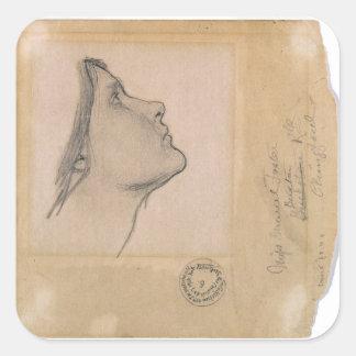 Study for 'Lamia', c.1904-05 (pencil on paper) Square Sticker