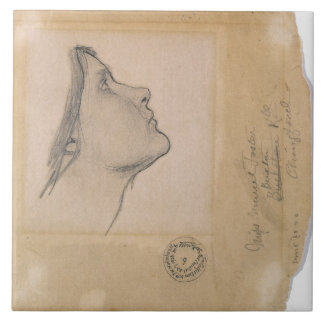 Study for 'Lamia', c.1904-05 (pencil on paper) Tile