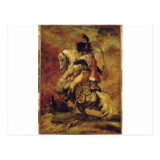Study for Officer of Chasseurs of the Imperial... Postcard
