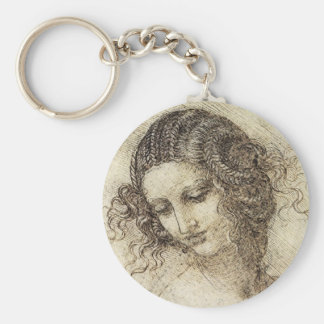 Study for the Head of Leda Key Ring