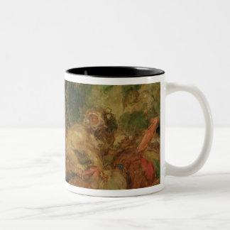 Study for The Lion Hunt, 1854 Coffee Mugs