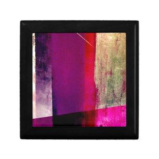 Study in purple and fuchsia gift box
