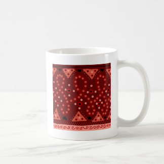 Study in reds coffee mug