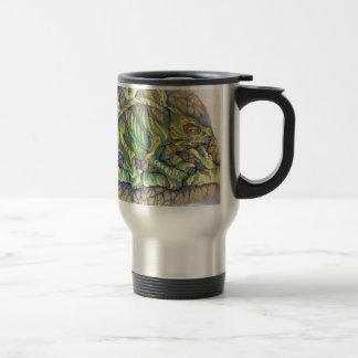 Study of A Chamelion Travel Mug