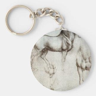 Study of horses - Leonardo da Vinci Key Ring
