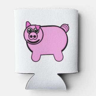 Stuffed Pig Can Cooler