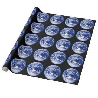Stunning Planet Earth Wrapping Paper