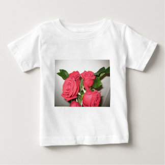 Stunning Red Roses Baby T-Shirt