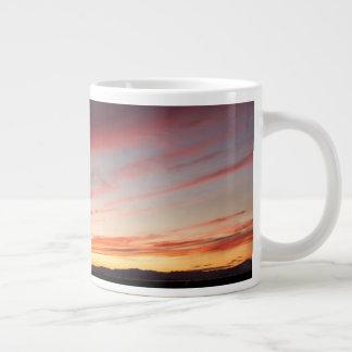 Stunning Sunset Large Coffee Mug