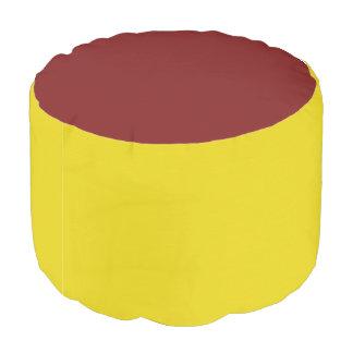Sturdy Spun Polyester Acrylic Designer Color Pouf