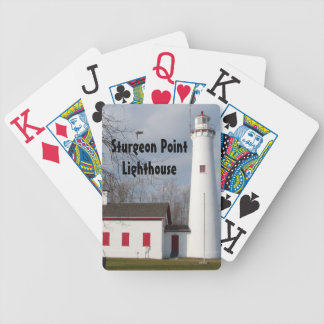 Sturgeon Point Lighthouse Bicycle Playing Cards