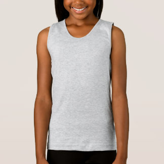 Style: Girls' Fine Jersey Tank Top One of our most