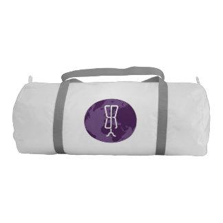 StyleRepublica  Logo Gym barrell Bag