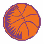 stylised basketball cut outs