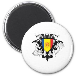 Stylish Andorra Magnet
