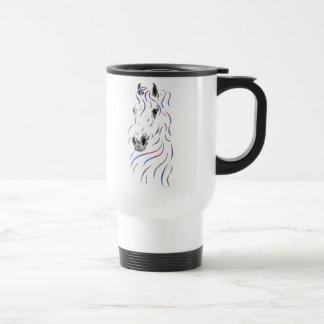 Stylish Arabian Horse Travel Mug