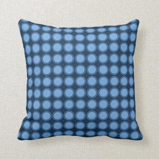 Stylish-Blue-Mod-Sun-Rise-Lumbar & Square Sz Cushion