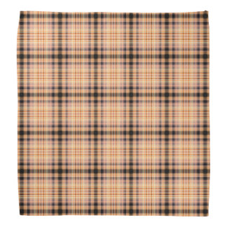 Stylish brown checkered Pattern Head Kerchiefs