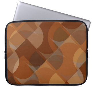 Stylish Cappucino Pattern Laptop Sleeve