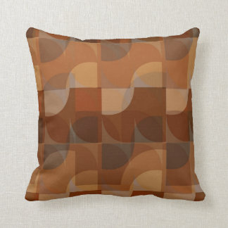 Stylish Cappucino Pattern Throw Pillow