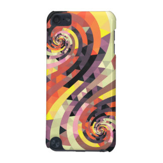 Stylish colorful abstract Art Snail iPod Touch 5G Cases