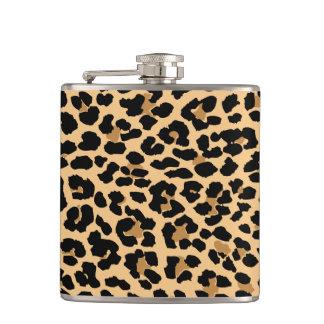 Stylish Leopard Print Pattern Flask