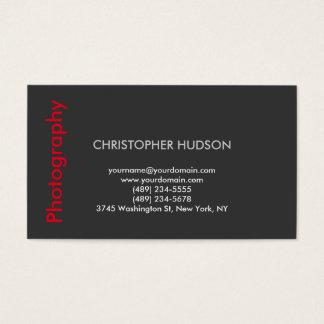 Stylish Modern Red Gray Photography