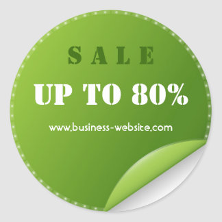 Stylish Modern Sale Business Sticker