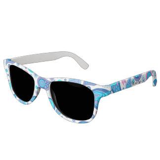 Stylish Paisley Print Custom Sunglasses